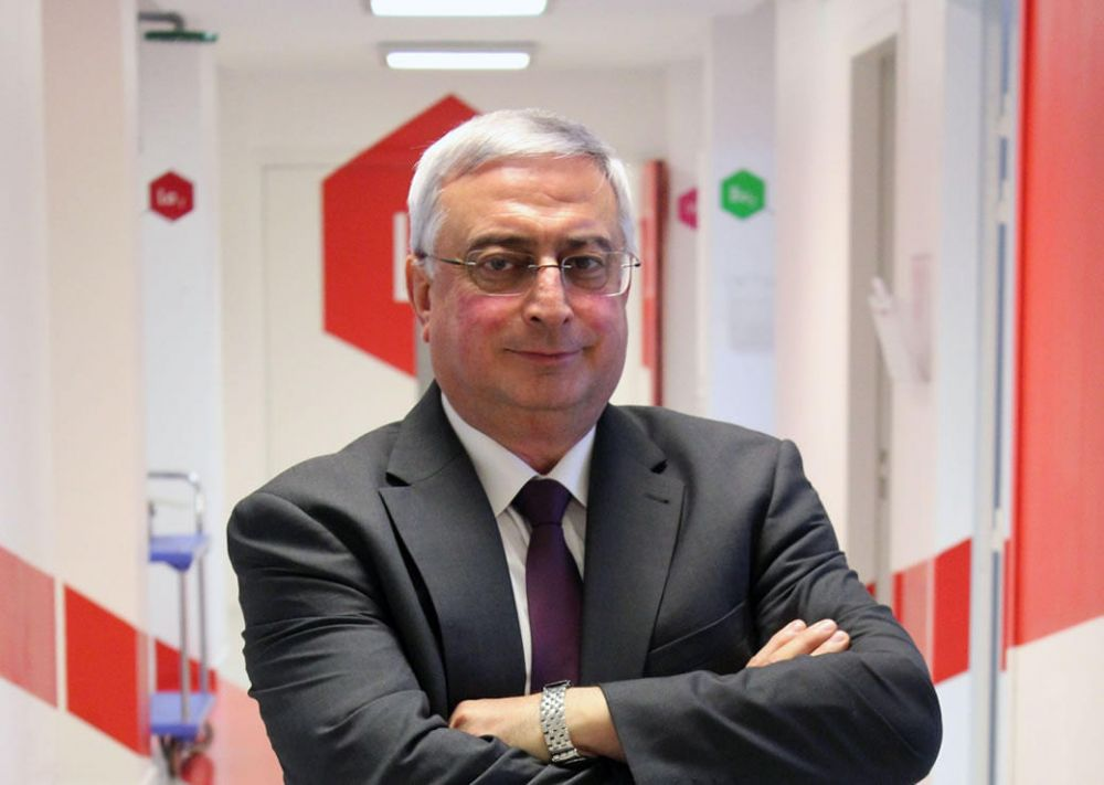 Professor Georges Hadziioannou elected at the National Academy of Engineering